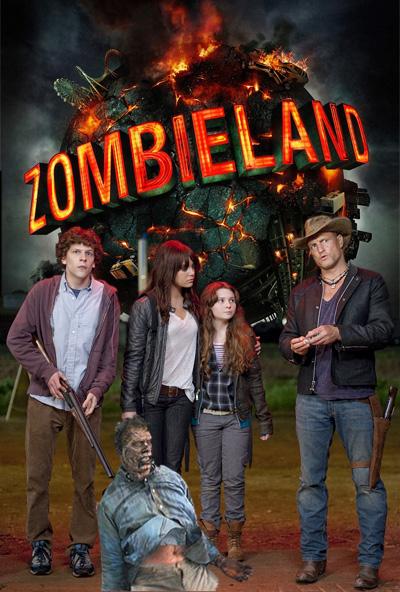 Zombieland movie custom poster