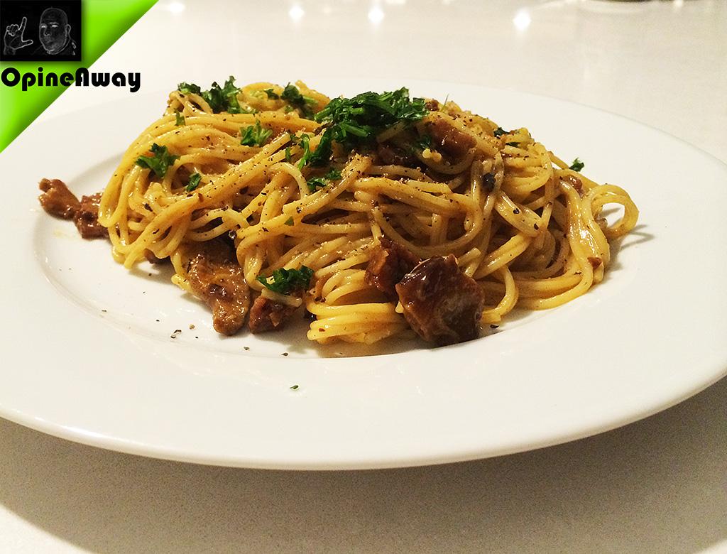 Spaghetti Carbonara Plus